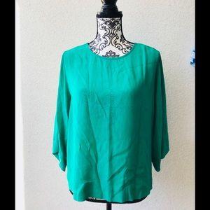🎉 Sam&Lavi green elegant oversized top XS